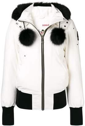 Moose Knuckles fox fur hooded jacket