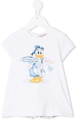 MonnaLisa Donald Duck print top