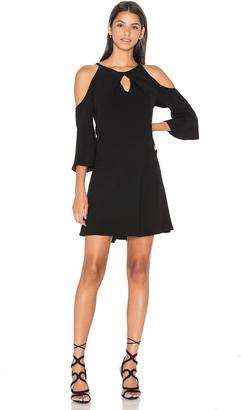RAMY BROOK Evette Cold Shoulder Dress $395 thestylecure.com
