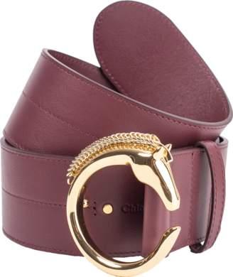 Chloé C Horse Buckle Belt