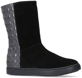 Christian Dior Quilted Ankle Boots