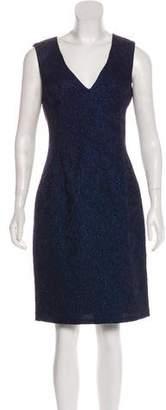ABS by Allen Schwartz Metallic Knee-Length Dress