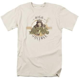 AC/DC Men's High Voltage T-shirt White