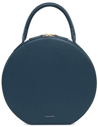 Mansur Gavriel Calf Circle Bag in Blu