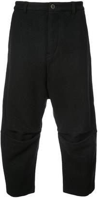 Individual Sentiments cropped casual trousers