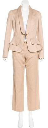 Alexander McQueen Structured Patterned Pantsuit