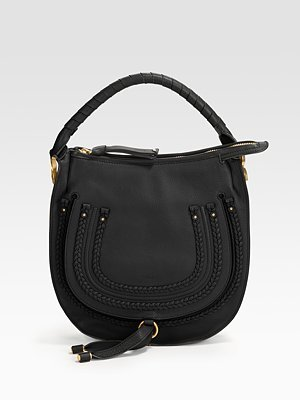 Marcie Small Braided Hobo