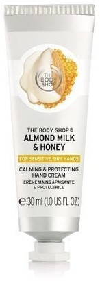 The Body Shop Mini Almond Milk & Honey Calming And Protecting Hand Cream