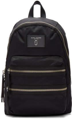 Marc Jacobs Black Nylon Biker Backpack