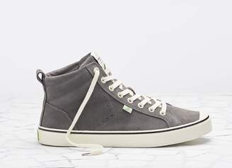 Cariuma OCA High Stripe Suede Grey Men