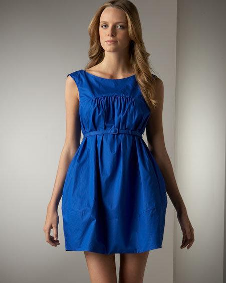 Theory Sleeveless Bubble Dress