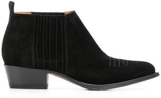 Buttero Tres western ankle boots