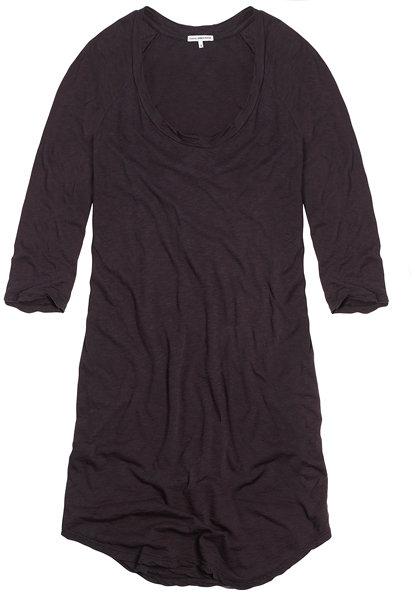Slub Jersey Dress