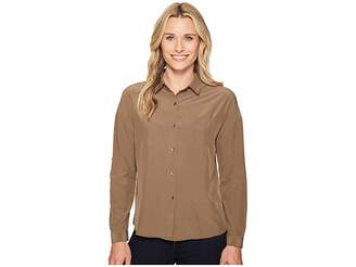 Prana Agnes Top Women's Long Sleeve Button Up