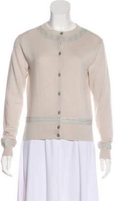 Marc Jacobs Cashmere Sequin-Embellished Cardigan