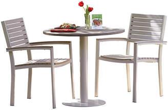 Oxford Garden Mission 3-Pc Bistro Table Set