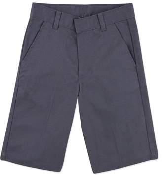 George Boys School Uniforms Wrinkle Resistant Prep Flat Front Shorts Size 18-22