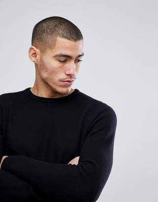 ONLY & SONS Knitted Sweater With Curved Hem
