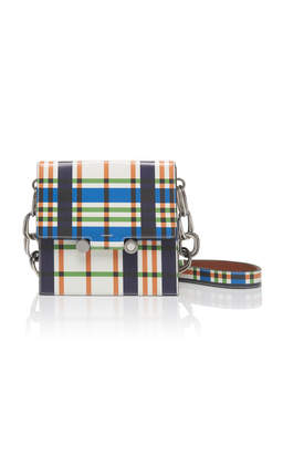 Marni Caddy Plaid Leather Bag