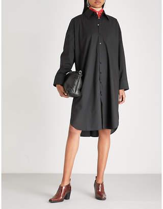 Acne Studios Oversized cotton-poplin shirt dress