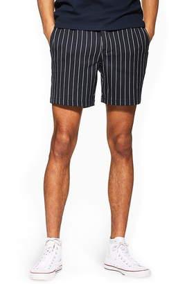 Topman Pinstripe Shorts