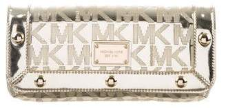 MICHAEL Michael Kors Delancy Leather Clutch