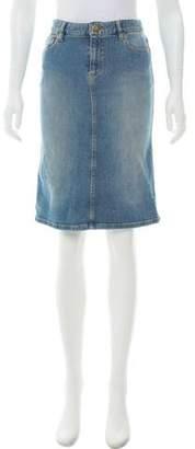 Marc by Marc Jacobs Denim Knee-Length Skirt