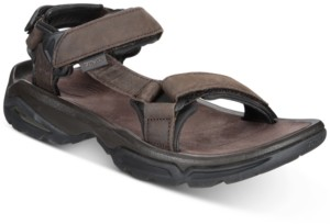 Teva Men's Terra Fi 4 Water-Resistant Leather Sandals Men's Shoes