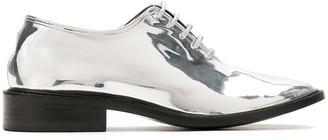 Reinaldo Lourenço metallic oxford shoes