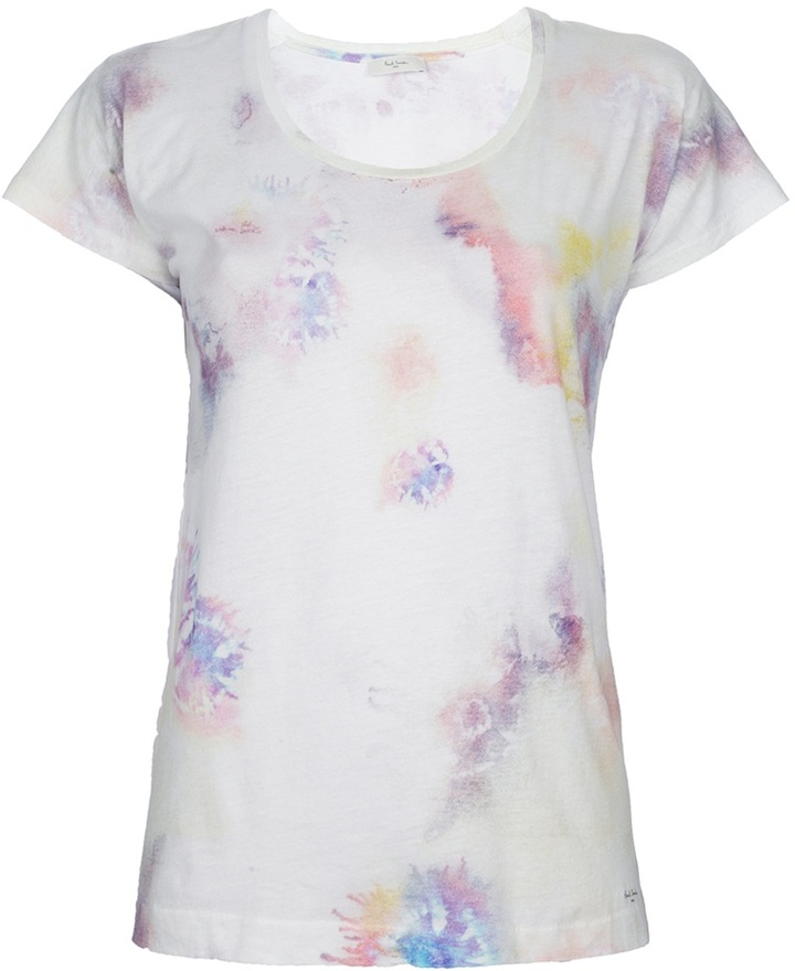 Paul By Paul Smith printed crew neck t-shirt