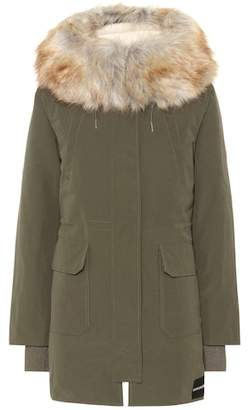 Calvin Klein Jeans Down parka with faux fur trim