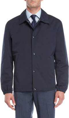 Cole Haan Navy Short Rain Jacket