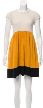 See by Chloe Colorblock Mini Dress