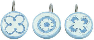 Bacova Guild Merry May Shower Curtain Hooks