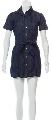 Current/Elliott Denim Button-Up Dress