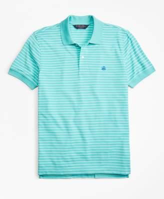 Brooks Brothers Slim Fit Supima Stripe Polo Shirt