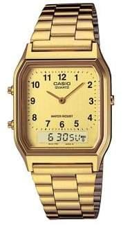 G-Shock Casio Goldtone Analog and Digital Vintage Watch
