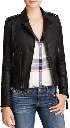 Joie Jacket - Ailey Leather Moto $898 thestylecure.com