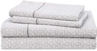 Lauren Ralph Lauren Spencer Cotton 4-Pc. Basketweave Queen Sheet Set Bedding