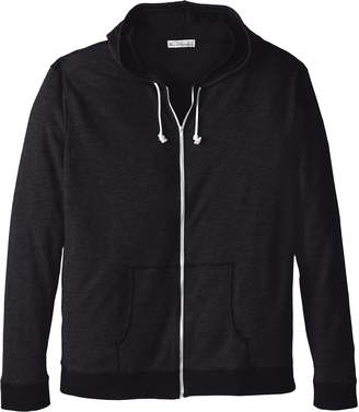Threads 4 Thought Men's Big-Tall Thermal Zip Hoodie