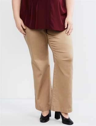 ef23d5c131e0e Motherhood Maternity Plus Size Secret Fit Belly Twill Boot Cut Maternity  Pants