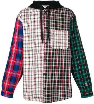 Tommy Hilfiger Lewis Hamilton check hoodie-shirt