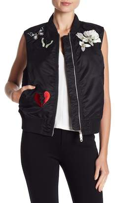 Cinq à Sept Kingston Bomber Vest
