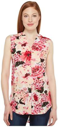 Jag Jeans Aspen Sleeveless Top in Rayon Print Women's Sleeveless