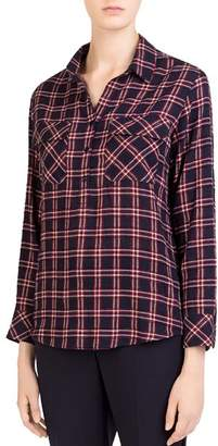 Gerard Darel Liliane Plaid Top
