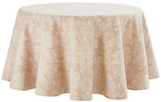 "Waterford Berrigan Round Tablecloth, 90""Dia."