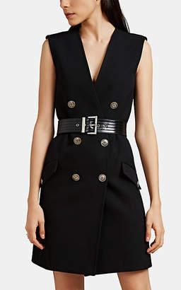 Givenchy Women's Piqué Military Shift Dress - Black