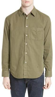 Rag & Bone Standard Issue Solid Classic Fit Shirt