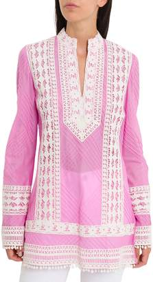 Tory Burch Rachel Tunic With Lace