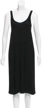 Iisli Stretch Knit Midi Dress